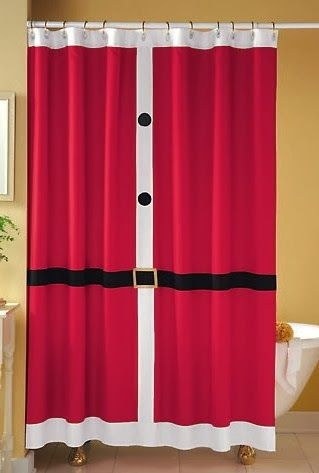Trending in Bathroom Decor: Holiday Shower Curtain Styles for Winter ...