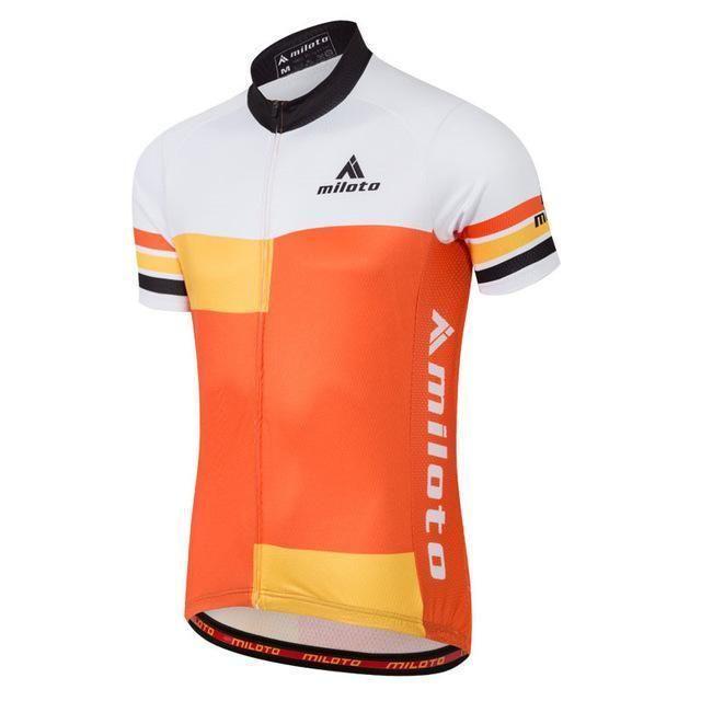 Miloto Cycling Jersey Tops Summer Racing Cycling Clothing Ropa Ciclismo Short  Sleeve Mtb 3dc87fddd