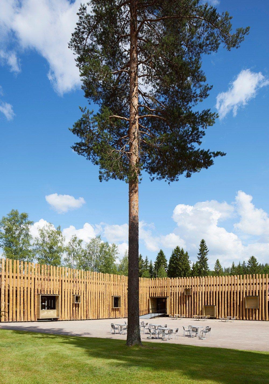 Torsby Finnskogscentrum: una escuela hecha museo.