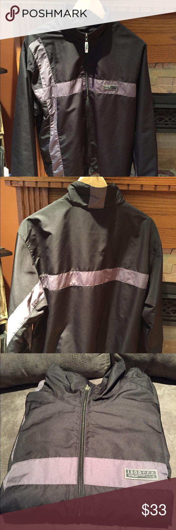 Izod Pfx Thermo Active Outerwear Jacket Outerwear Jackets Jackets Outerwear [ 1740 x 580 Pixel ]