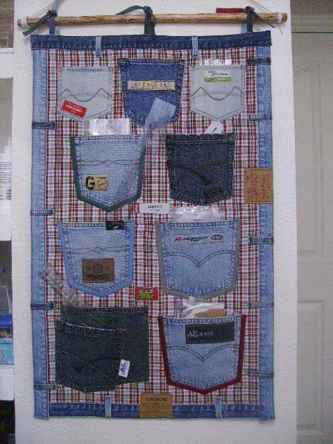 74 Awesome DIY ideas to recycle old jeans #projetsdecouturedébutants