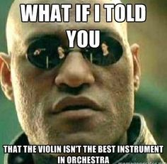 I'd have to say you're wrong, but could agree that cello is almost tied with violins. Almost.