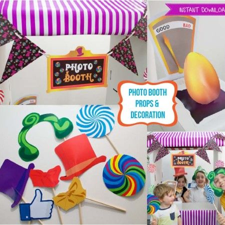 Pin On Willy Wonka Charlie The Chocolate Factory Party