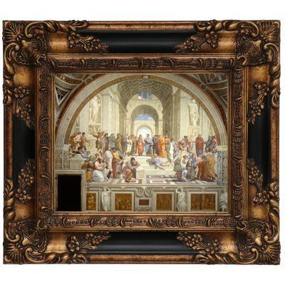 Astoria Grand \'The School of Athens 1511\' Framed Oil Painting Print ...