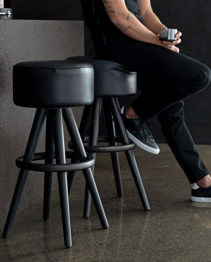 Joi Leather Bar Stools Sold Out Cb2 Leather Bar Stools Leather Bar Black Leather Seating