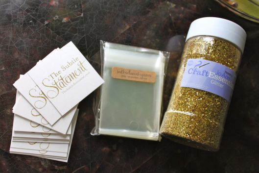 Diy glitter business cards fashion pinterest business cards diy glitter business cards reheart Image collections