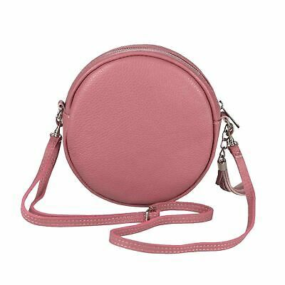 Photo of Italy Women's Leather Bag Crossbody round Shoulder Bag Crossover Shoulder Purse  | eBay