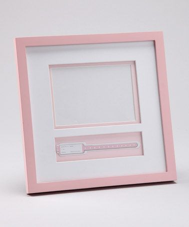 Take A Look At This Pink Picture Frame Hospital Bracelet Holder By