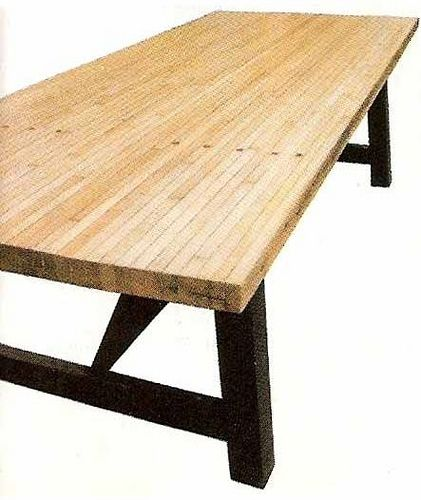 Repurposed Bowling Alley Dining Table Big Daddy Antiques Slab