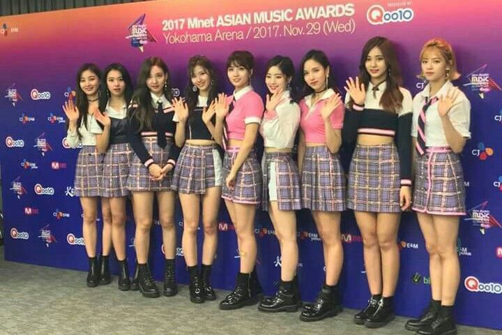 TWICE -171129 MAMA Mnet Asian Music Awards 2017 in Japan