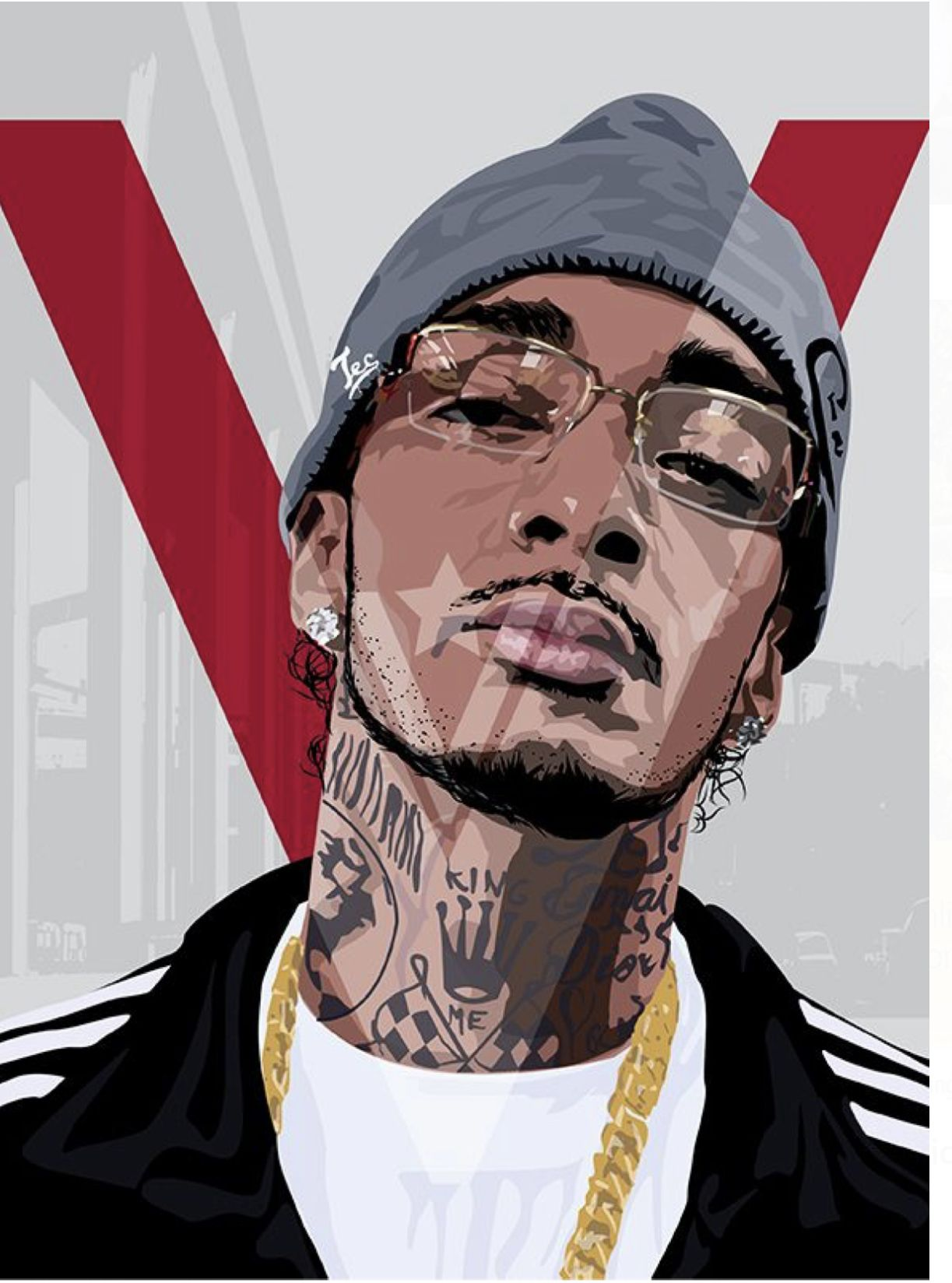 Pin by Zagna on Nipsey TMC (With images) Hip hop