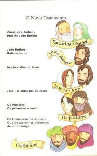 Quem E Quem Na Biblia Biblia Para Criancas Historias Da Biblia