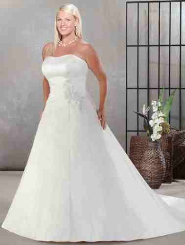 Wedding dresses for Plus size beauties!