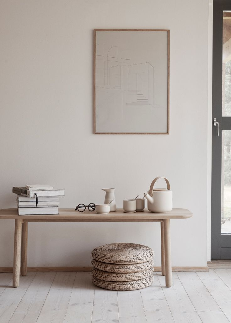 AWAKEN THE SENSES - STELTON'S THEO TEA AND COFFEE COLLECTION IN NEW SAND COLOUR Scandinavian interior design. #homedecor #nordicminimalism #minimaldesign #stelton
