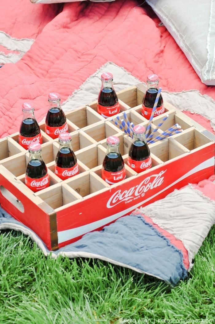 Graduation You're Going Places #ShareaCoke party by Kara Allen