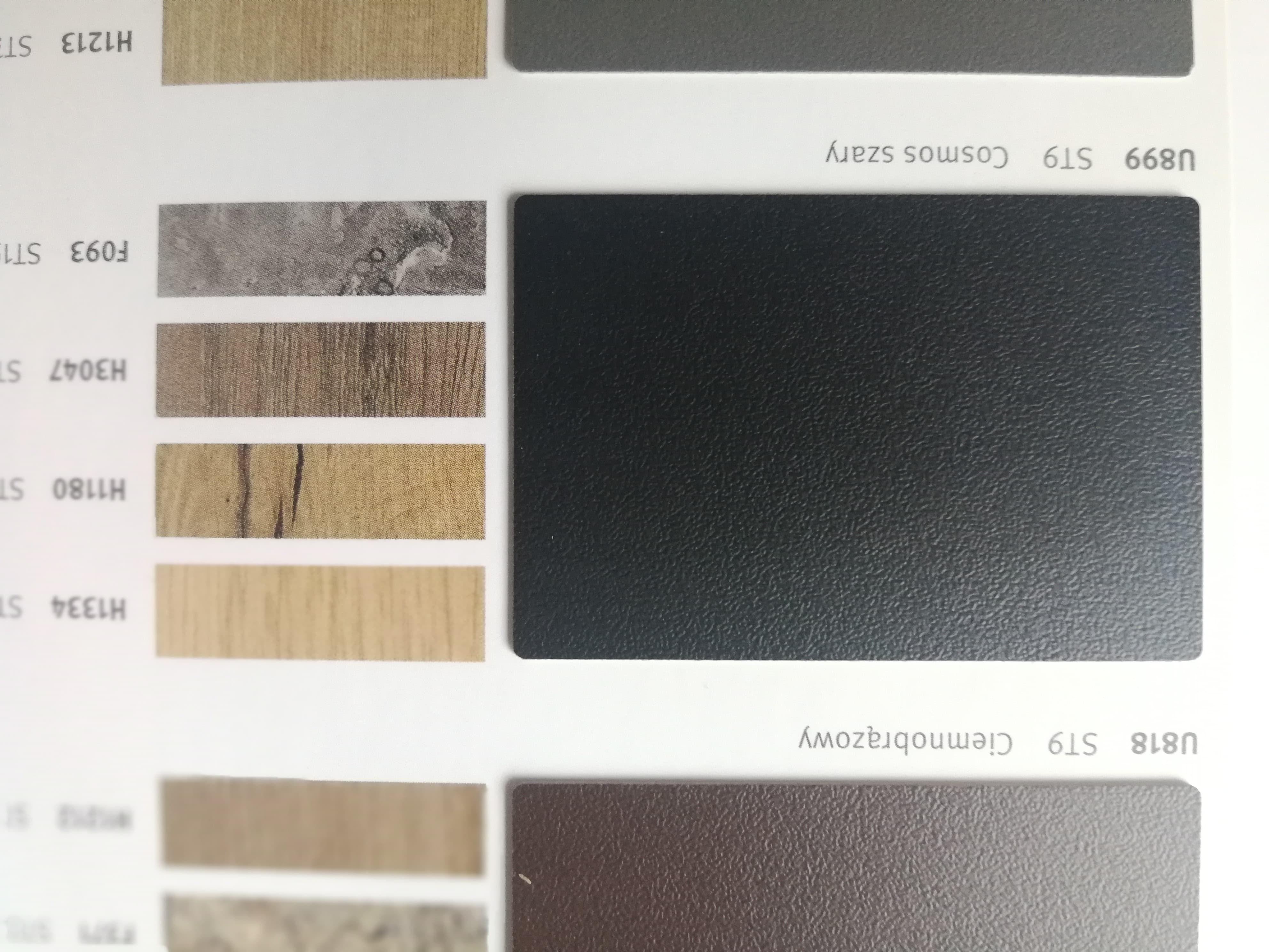 Alternatywna Opcja Wykonczenia Blatu Stolu W Kuchni Egger Cosmos Szary U899 St9 Laminat Hpl Decor Home Decor Magazine Rack