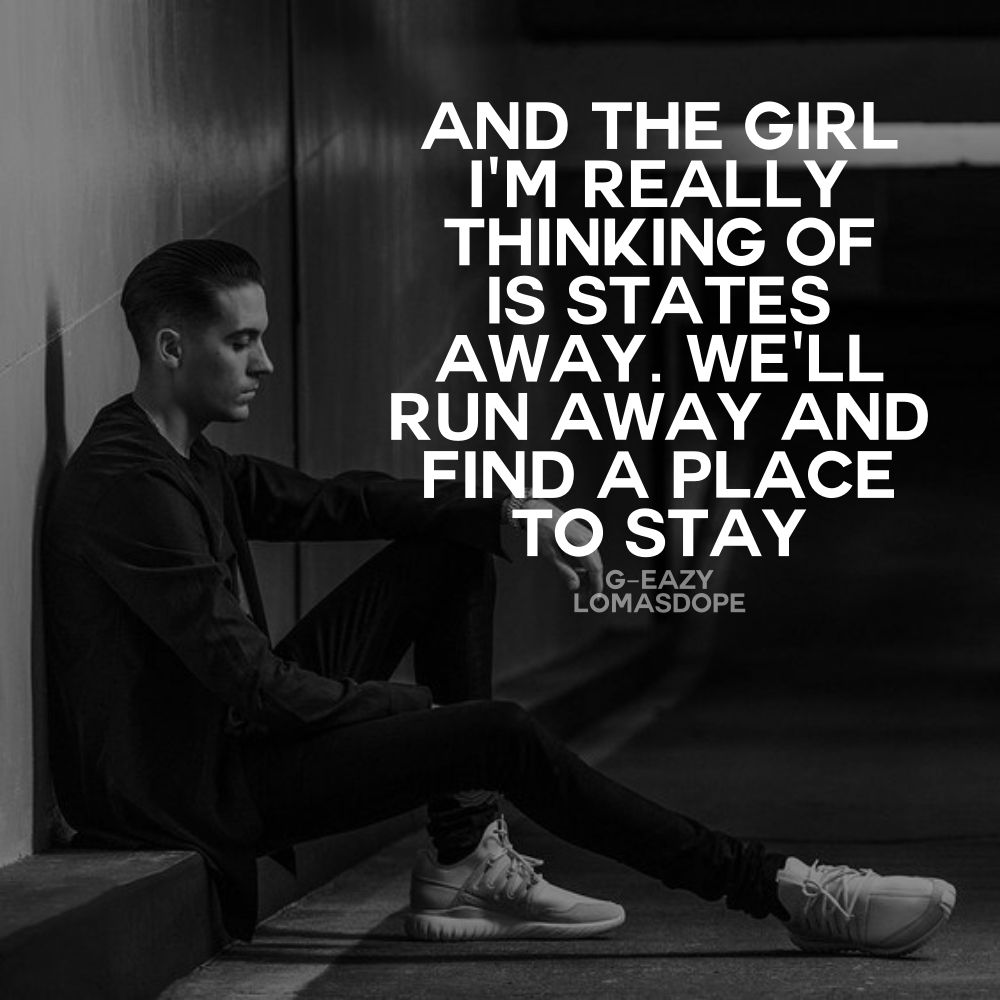 5 G Eazy Quotes To Know Him Better G Eazy Songs Rap