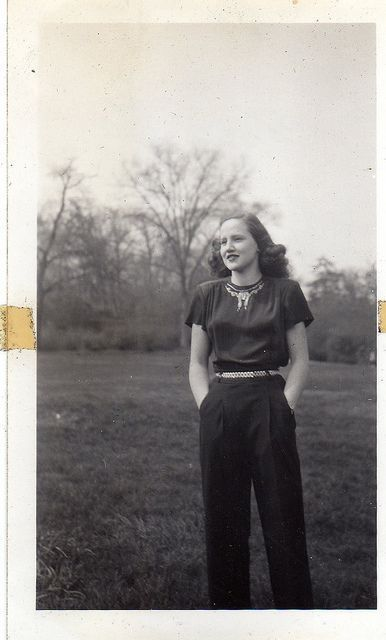 high pants, 1940s style