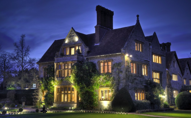 Le Manoir Aux Quatres Saisons At Dusk Oxfordshire Weekend Heaven And One Of My Favourite Places To Go Ever
