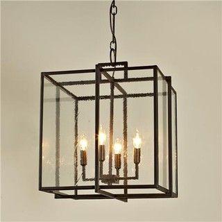 lantern pendant lighting. double cube frame lantern modern pendant lighting by shades of light