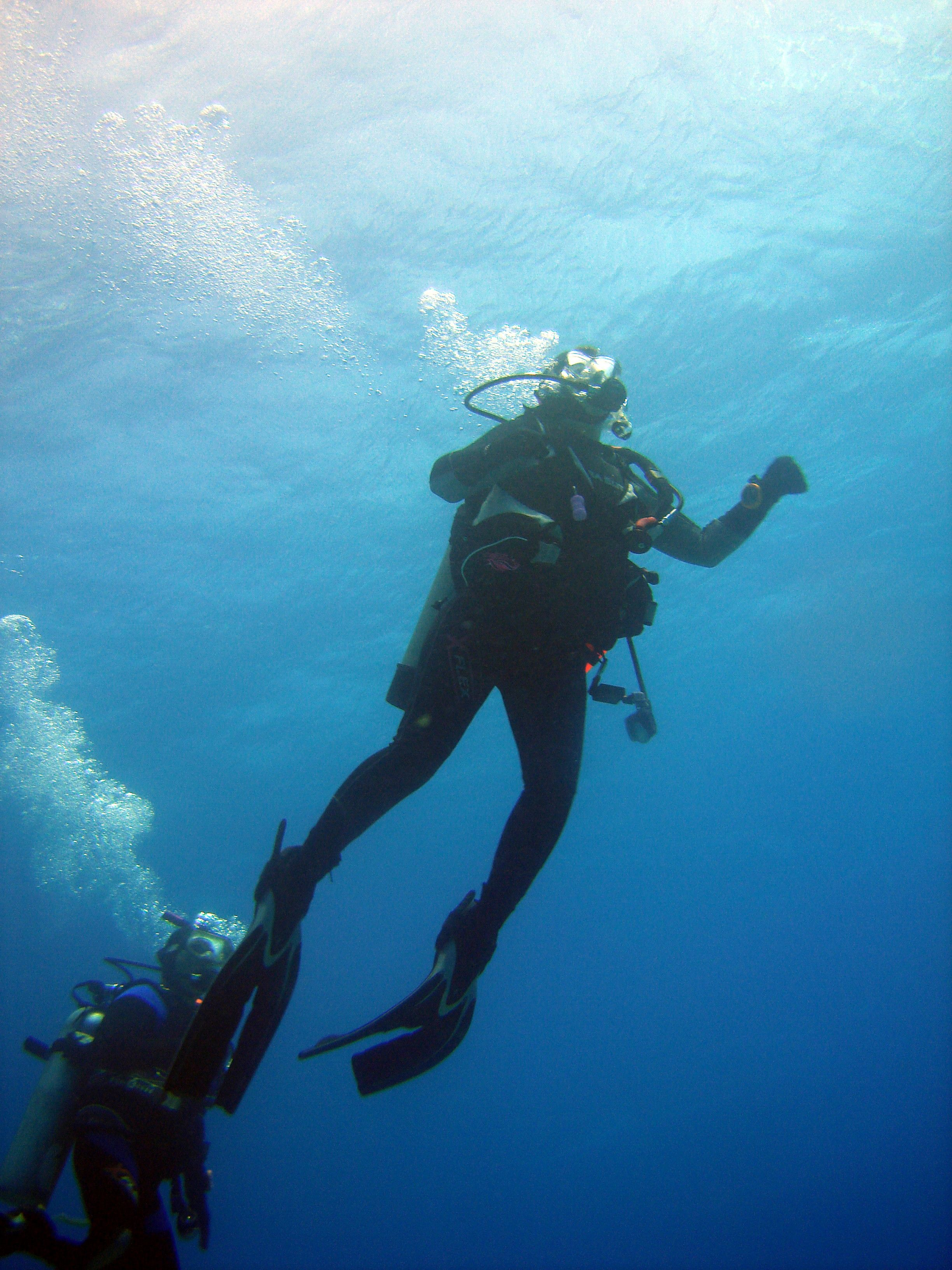 Me surfacing from a dive in Oahu.   Diving, Scuba diving ...