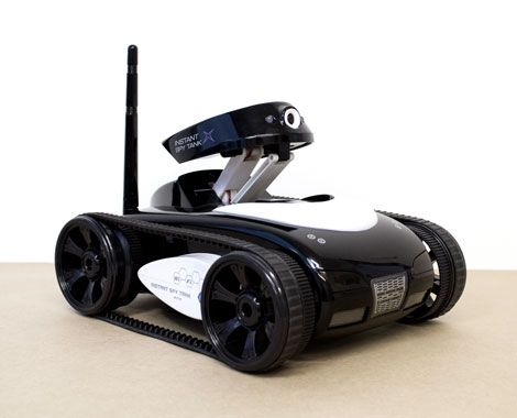 Get your ultimate spy equipment. Grab an iSpy iPhone and iPad remote controlled tank for $129.95 fromBoodlesBuys.