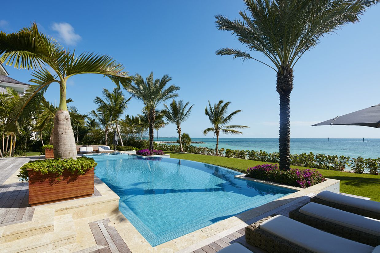 residential infinity pools. Mills Design Group | Residential - Infinity Edge Pool, 360 Spill Spa Pools D