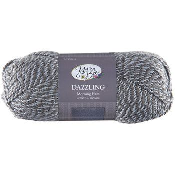 LOVE this yarn! Yarn Bee Dazzling Yarn (Morning Haze) | Yarn for ...