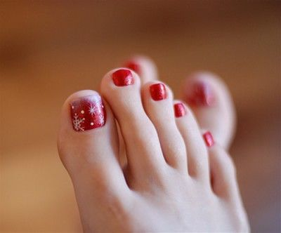 Cool Toe Nail Art Designs 2012 Love The Polka Dots Description From