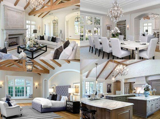 Inside kimye 39 s 20 million dream house see the pics Kourtney kardashian house interior design