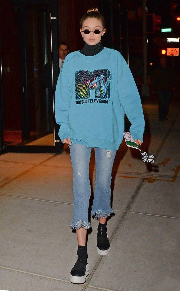Throwback from Gigi Hadid's Street Style | Gigi hadid