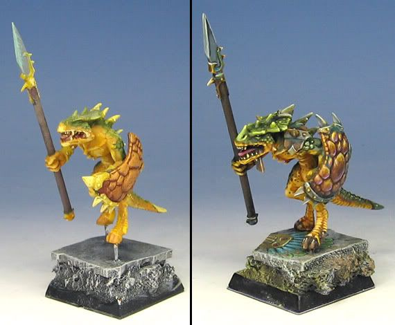 easy zombie dragon painting guide