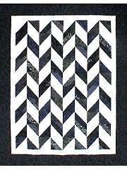 Strip Tube Herringbone Quilt Pattern from AnniesCraftStore.com ... : tube quilt pattern - Adamdwight.com