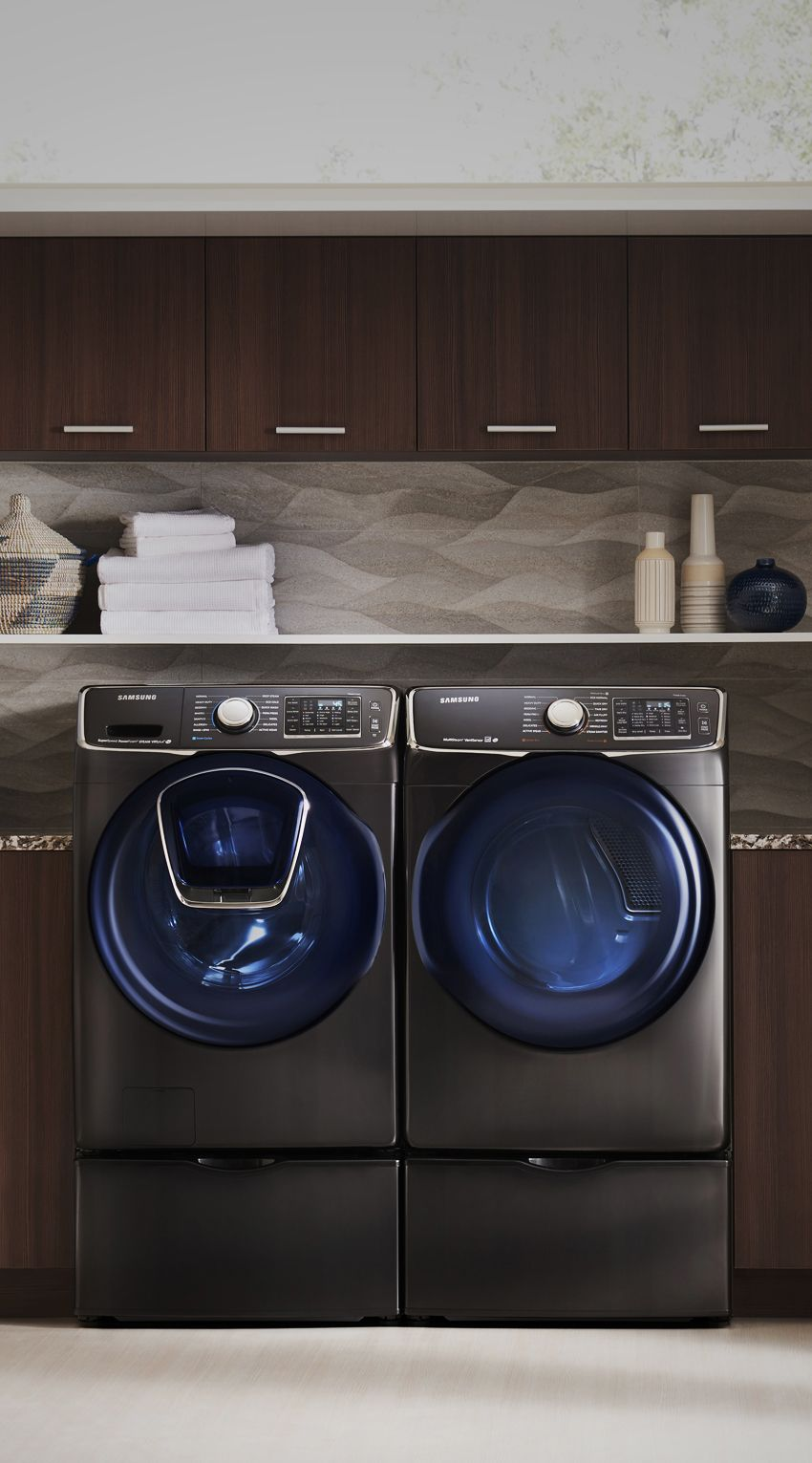 Ever Start Washing Your Laundry And Forget To Throw In A Dirty Item We Sure Have That S Why Love Samsung New Addwash Door Feature