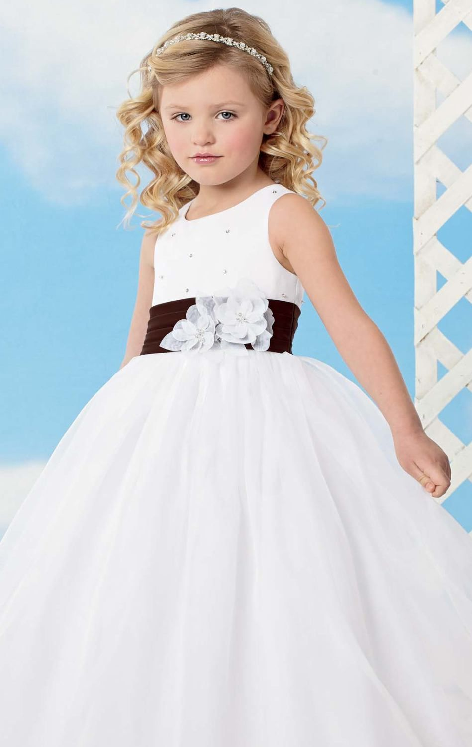 Click to buy pretty a line flowers girl dresses black sash click to buy pretty a line flowers girl dresses black sash ombrellifo Choice Image