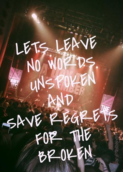 All I Want By A Day To Remember Remember Lyrics Image Quotes Metalcore Lyrics