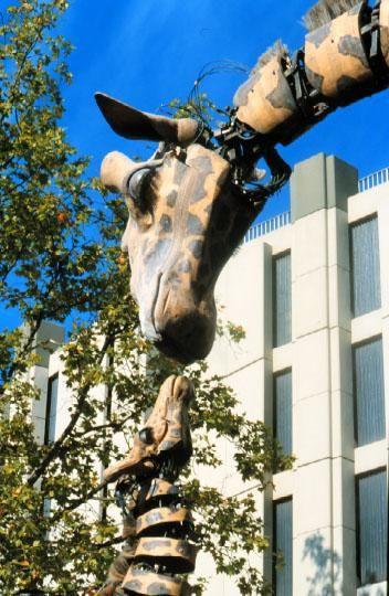 La Girafe Et Son Petit Royal De Luxe Girafes Art De Rue