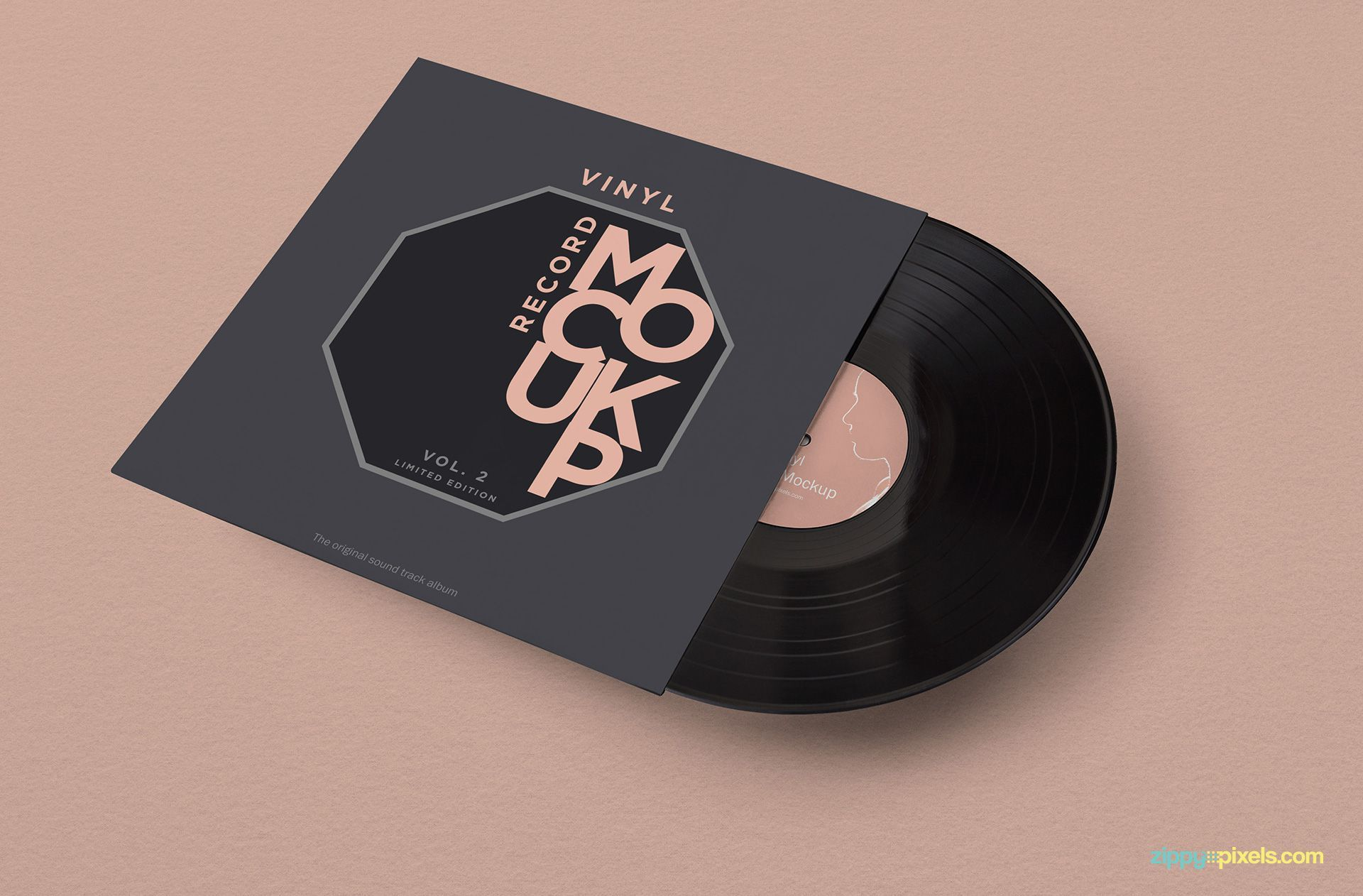Free Vinyl Record Mockup Zippypixels Vinyl Records Covers Vinyl Records Vinyl Record Sleeves
