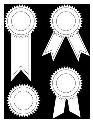 Printable Award Ribbons Award Ribbons Award Ribbon Award Template