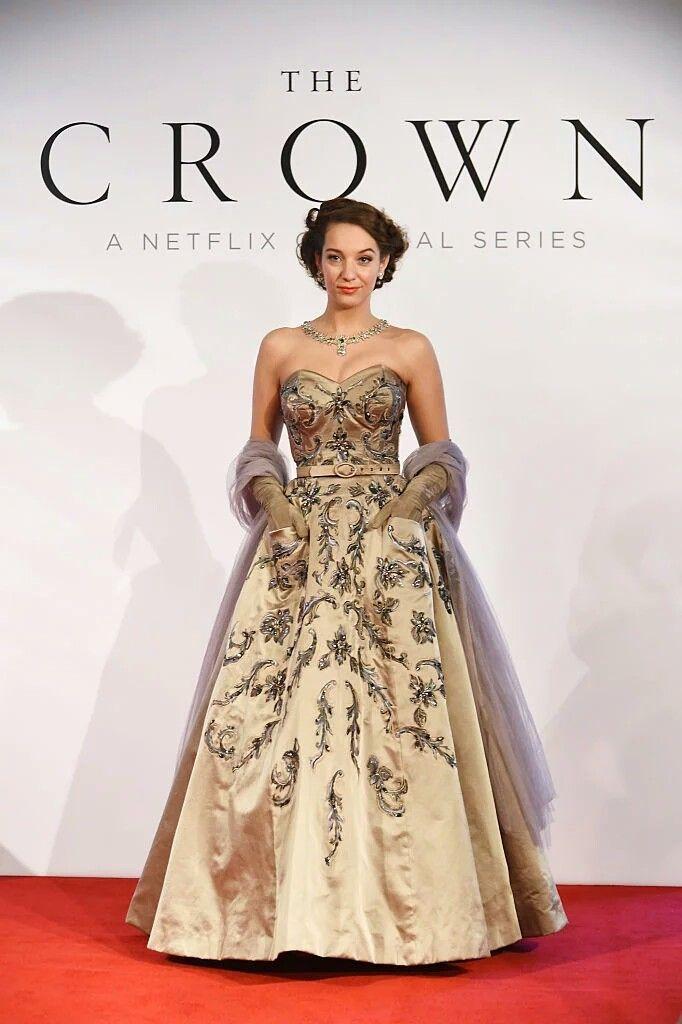 The Crown bts costume exhibit