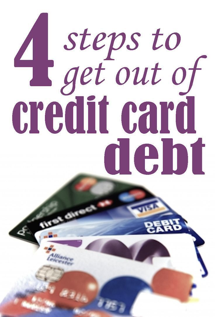 4 Steps to get out of credit card debt, including balance transfers ...