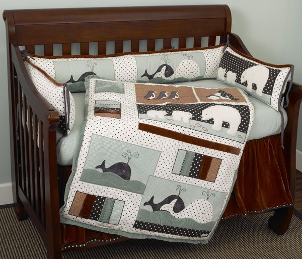 Arctic Babies Is The Name Of The Bedding Design