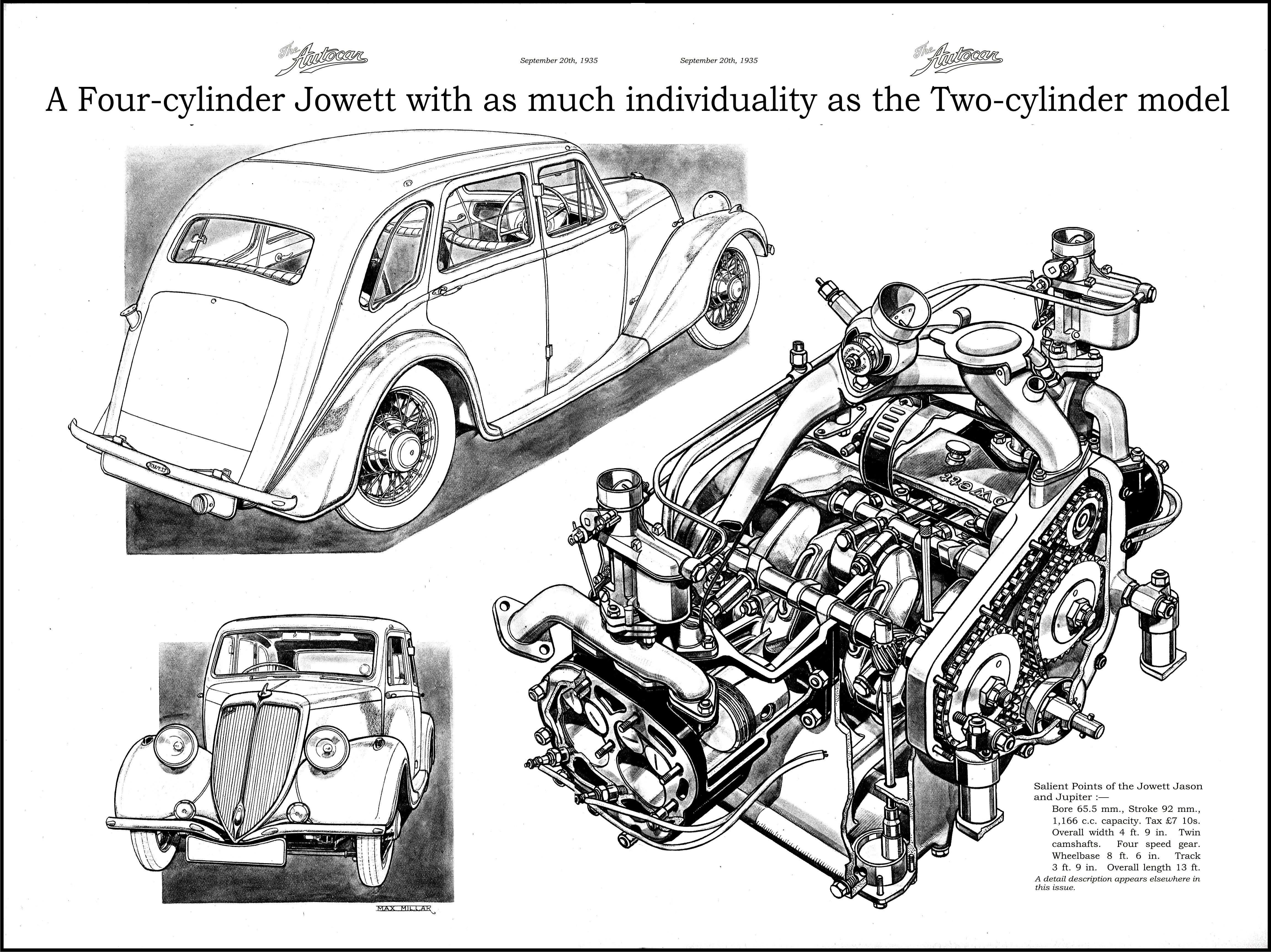 Jowett Jason And Jupiter Autocar Motor Mechanicals