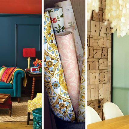 Adresses peinture   papier-peint Home Decor Lookie-Loo Pinterest - repeindre du papier peint