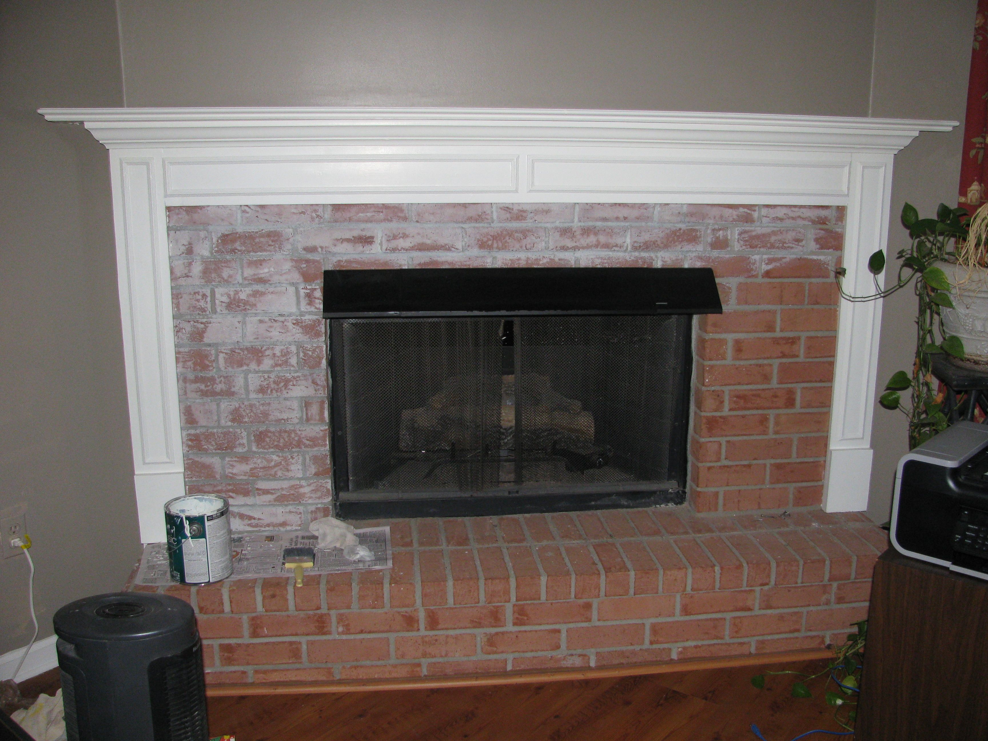 fireplace remodel picture stunning brick for stacked trend hearth quartz and panels popular stone u over pinteres