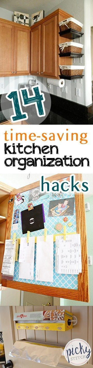 Kitchen Organization, Kitchen Organization Tips And Tricks, Easy Ways To  Organize Your Kitchen,