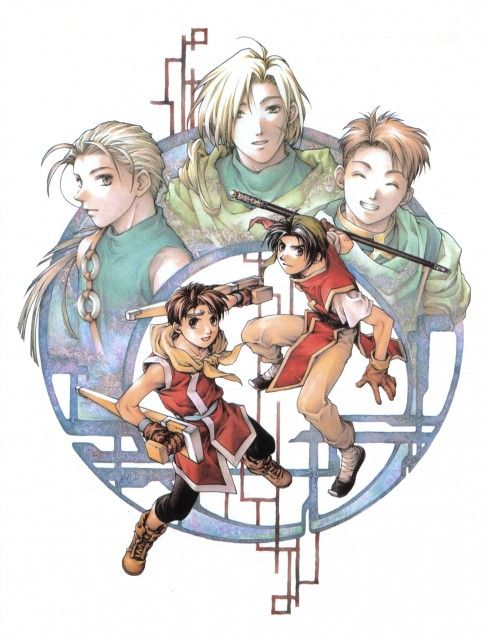 Suikoden I And Ii Best Friends Riou Jowy Ted And