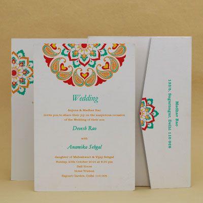 Pushpanjali Wedding Invitation Cards E Card Designs Buy