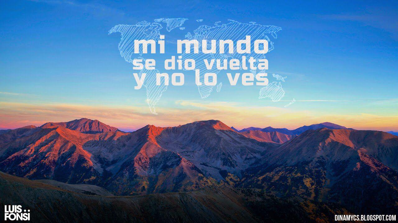 Que Quieres De Mi Luis Fonsi Lyrics Letra Frases Chulas Pensamientos Frases