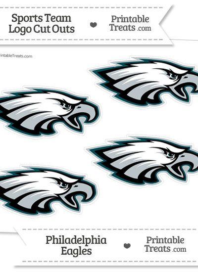 Small Philadelphia Eagles Logo Cut Outs | Printables | Pinterest